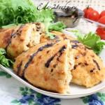 Куриные грудки с моцареллой и помидорами