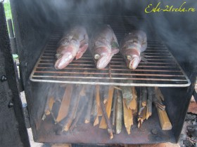 Копчение рыбы.
